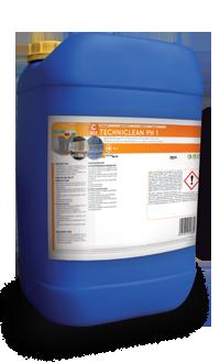 Nettoyant pH 1 pour façades, murs extérieurs en briques et sols