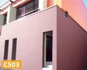 C503REVÊTEMENT DE PROTECTION COLORÉ (PEINTURE)POUR FAÇADES