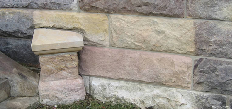 agent de nettoyage fa ades murs et sols en pierres. Black Bedroom Furniture Sets. Home Design Ideas