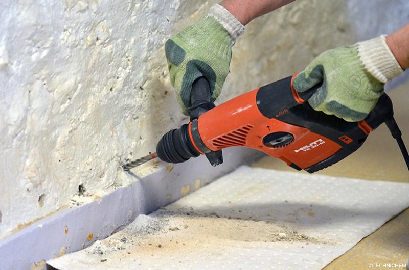 Hydrofuges D Injection Pour Le Traitement Des Murs Humides