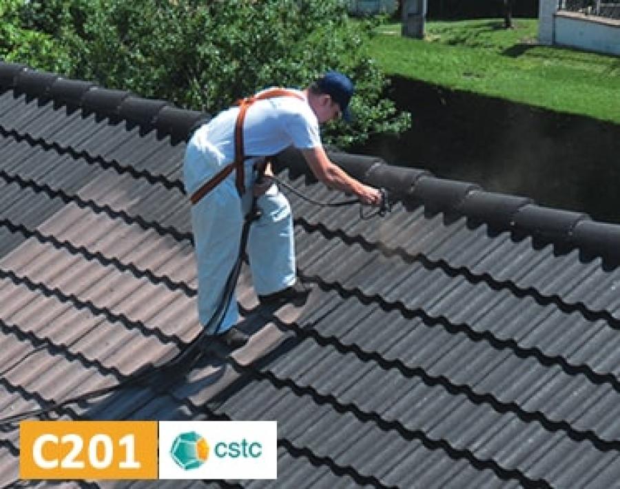 Hydrofuge color pour la r novation des toitures en tuiles - Peinture pour toiture tuile beton prix ...